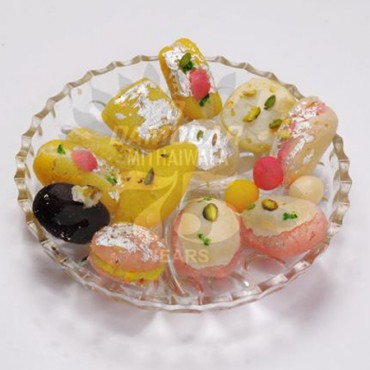 Mixed Bengali Sweets Plate